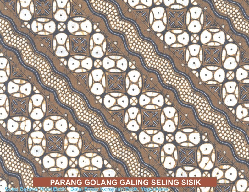Batik Pola Parang Dan Lereng Galeri Umzara